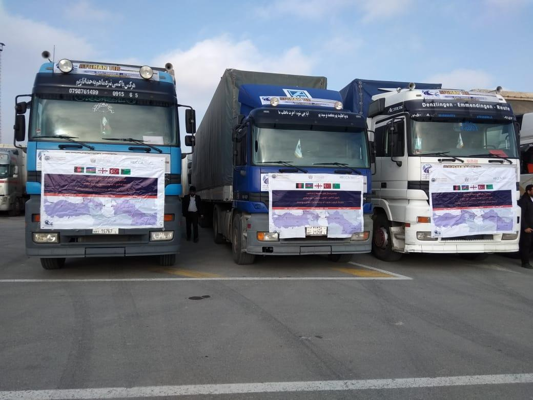 Azerbaijan receives first cargo from Afghanistan via Lapis Lazuli route - PHOTO