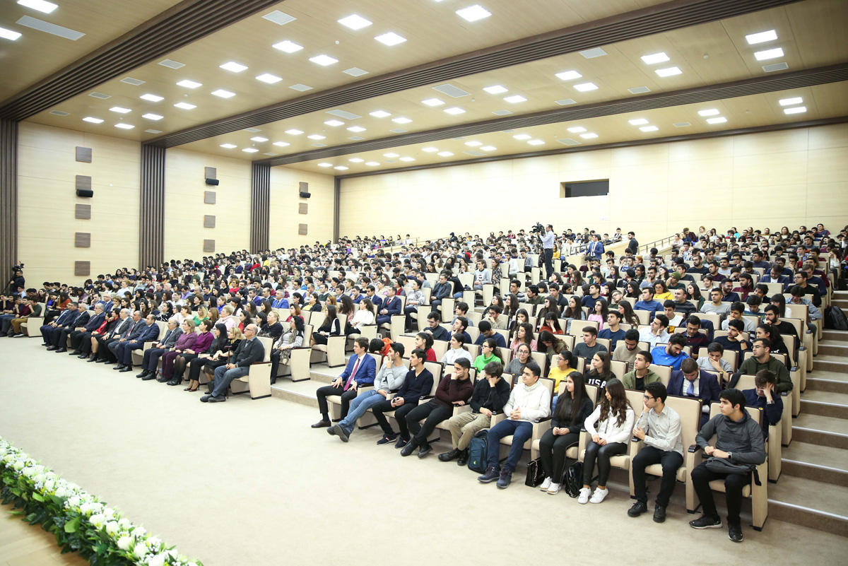 Baku Higher Oil School celebrates Solidarity Day of Azerbaijanis of World (PHOTO)