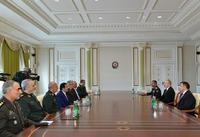 Ilham Aliyev receives Chief of General Staff of Iran's Armed Forces