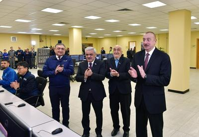 Ilham Aliyev attends inauguration of SOCAR carbamide plant (PHOTO)