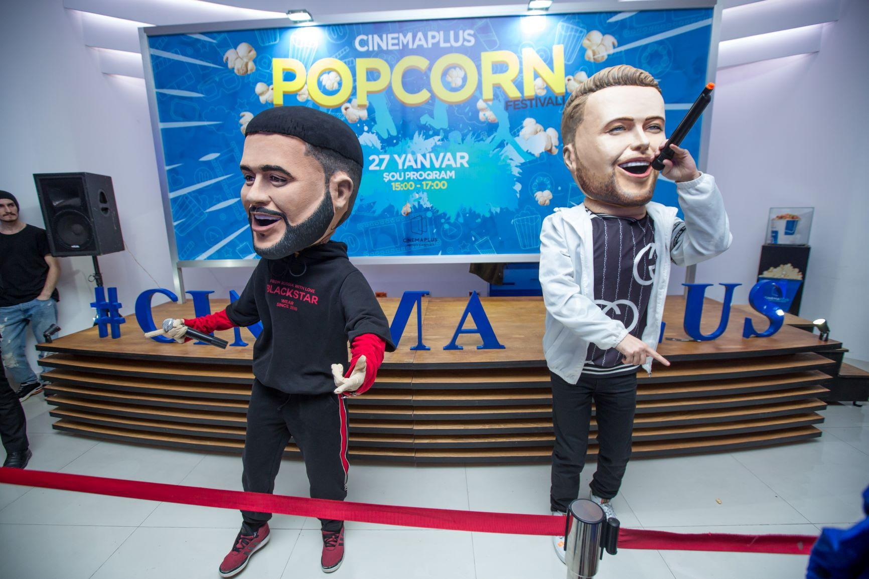 В Баку прошел оригинальный  Фестиваль попкорна (ВИДЕО, ФОТО)