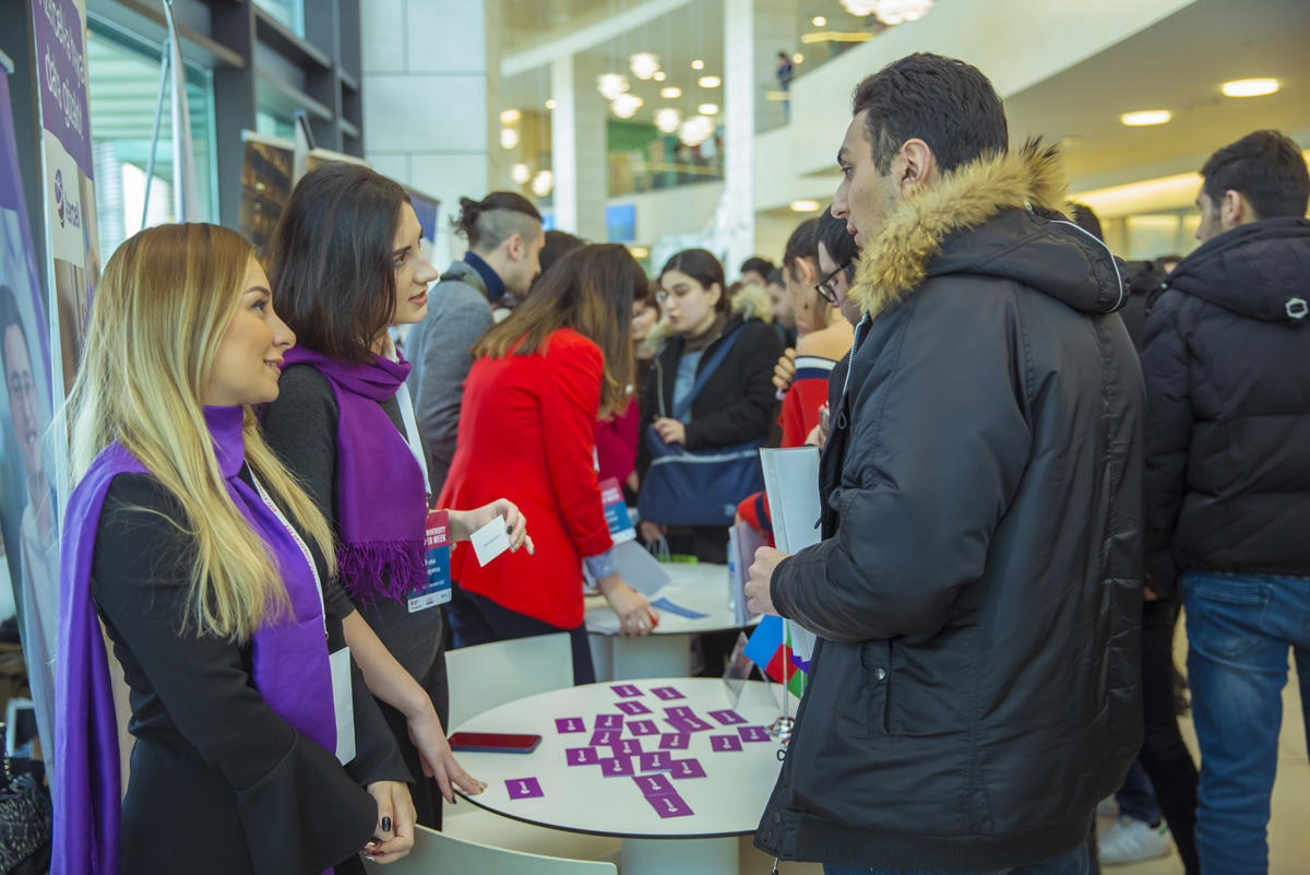 Azercell takes part in another career fair (PHOTO)