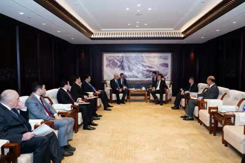 China supports Trans-Caspian Int'l Transport Route - minister (PHOTO)