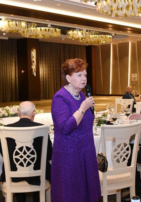 В честь участников VII Глобального Бакинского форума был дан прием