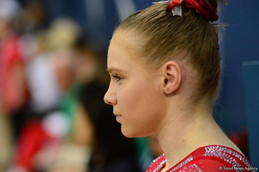 В Национальной арене гимнастики продолжаются финальные соревнования Кубка мира по спортивной гимнастике в Баку (ФОТО)