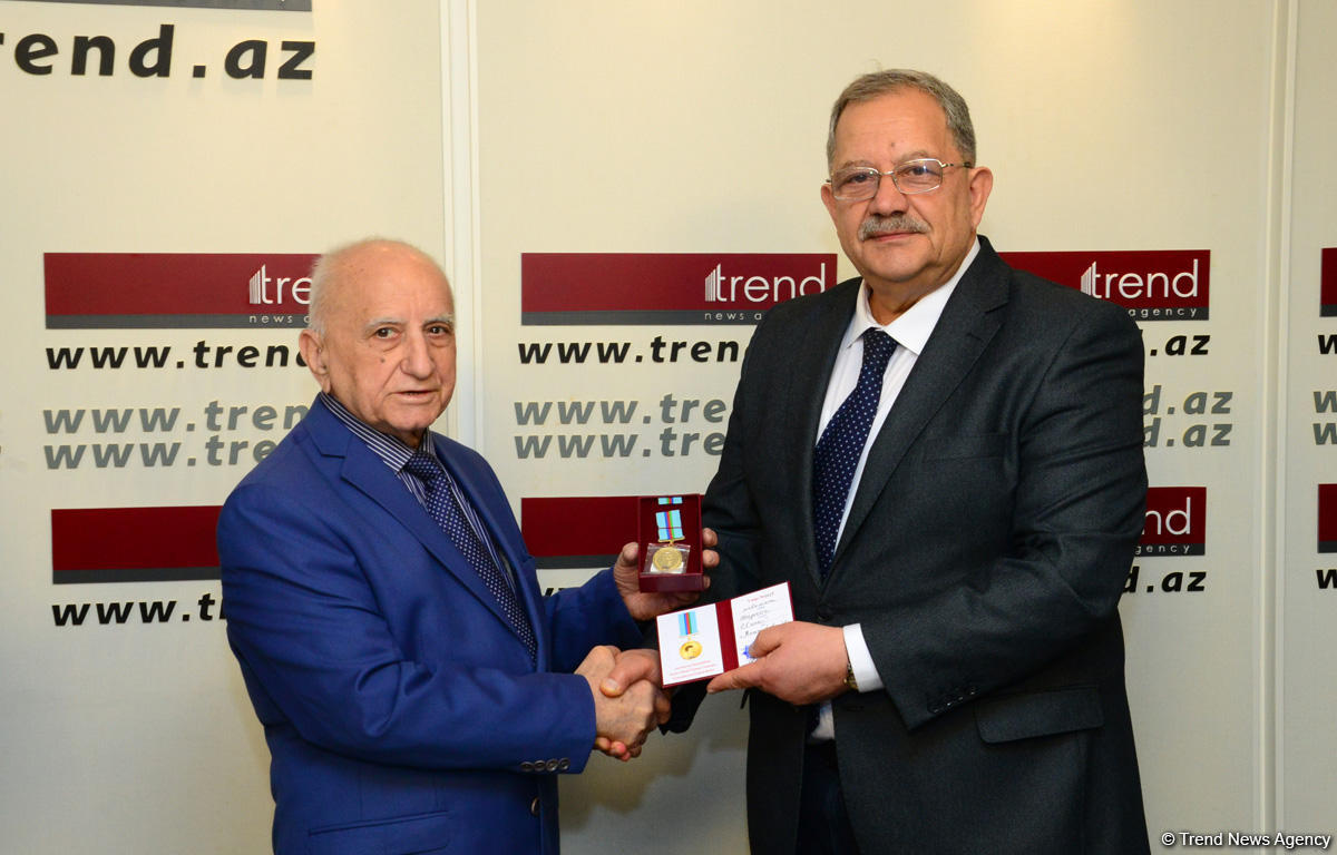 Staff members of Trend news agency awarded for positive coverage of 100th anniversary of Azerbaijani Security Bodies (PHOTO)