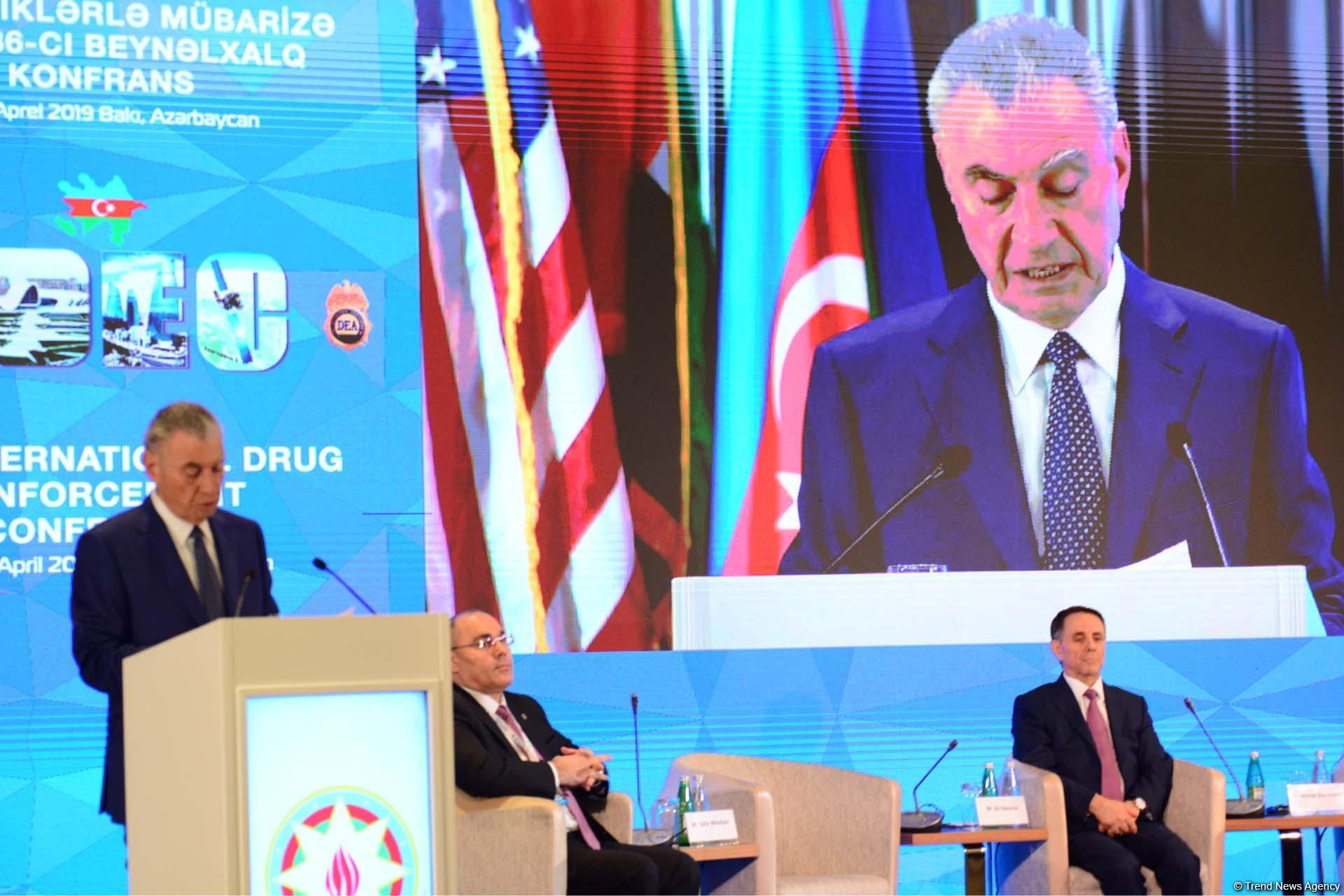 High-ranking officials mulling issues of global fight against drug trafficking in Baku (PHOTO)