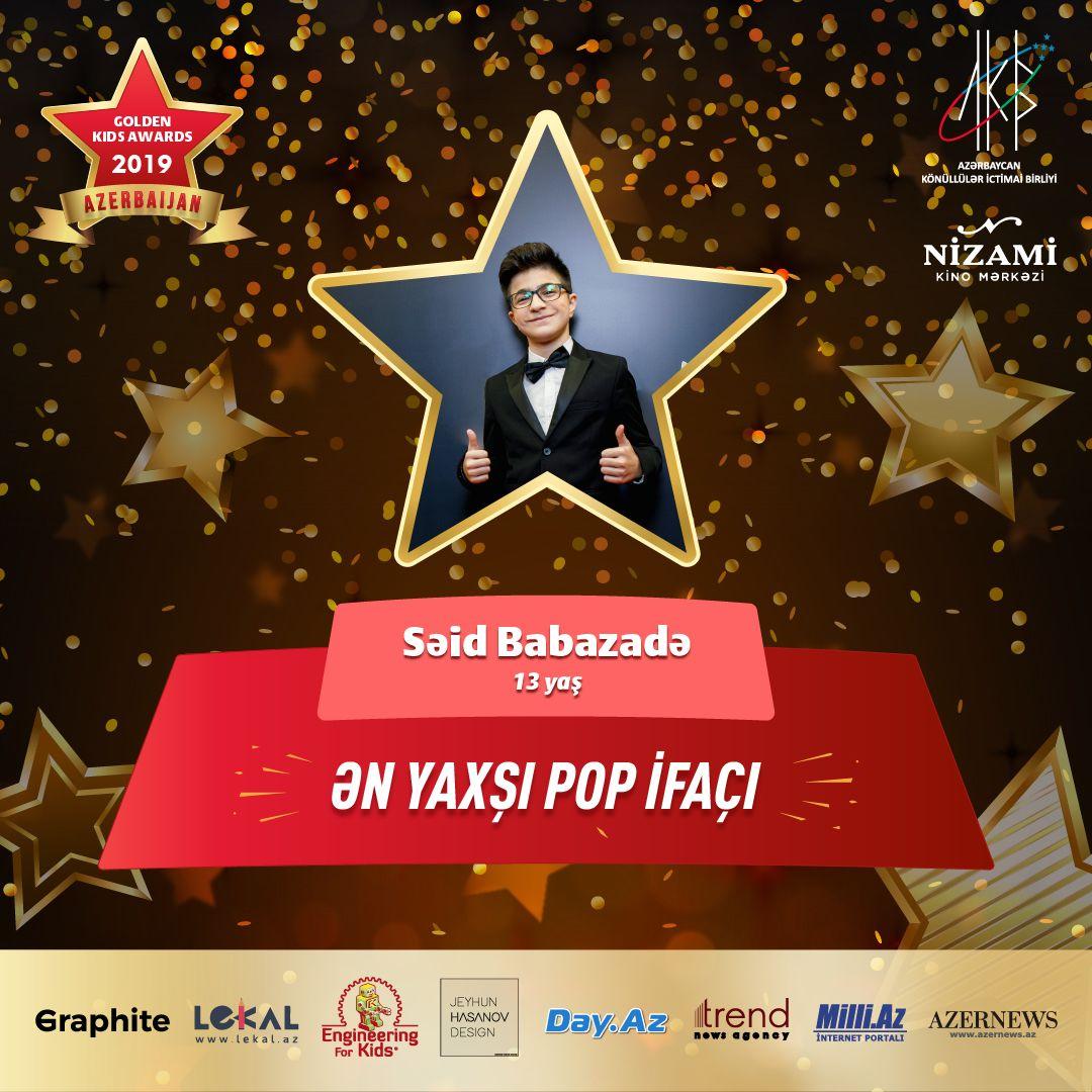 Названы первые номинанты Azerbaijan Golden Kids Awards 2019 (ФОТО)