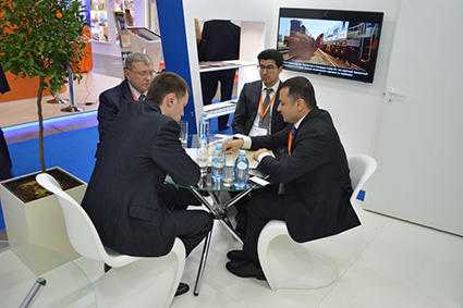 Azerbaijan's stand recognized best at int'l exhibition  in Moscow (PHOTO)