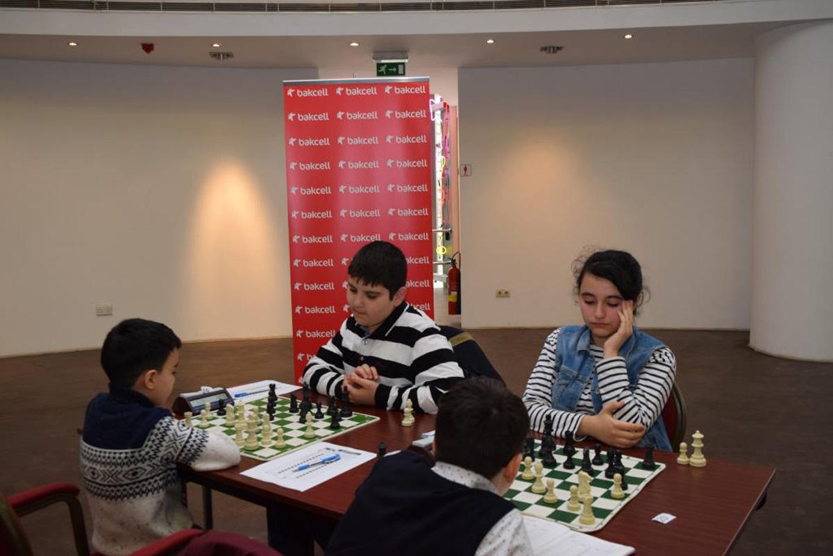 Bakcell supports yet another children's chess tournament (PHOTO)
