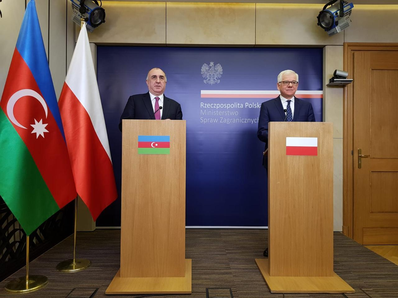 Poland interested in developing co-op with Azerbaijan in energy sector (PHOTO)
