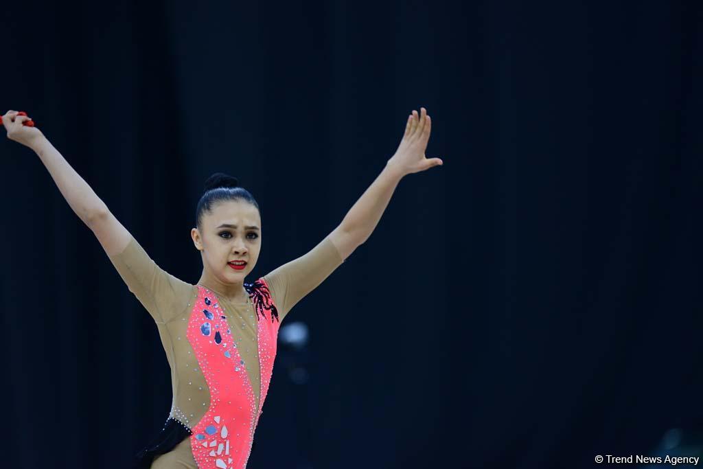 """Bakıda bədii gimnastika üzrə 2-ci """"AGF Junior Trophy"""" beynəlxalq turnirinə start verilib (FOTO)"""