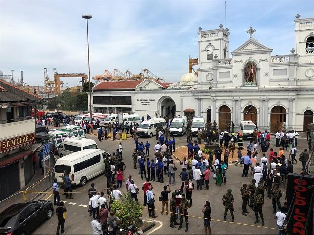 Şri-Lankada partlayışlarda ölənlərin sayı 310-a çatıb