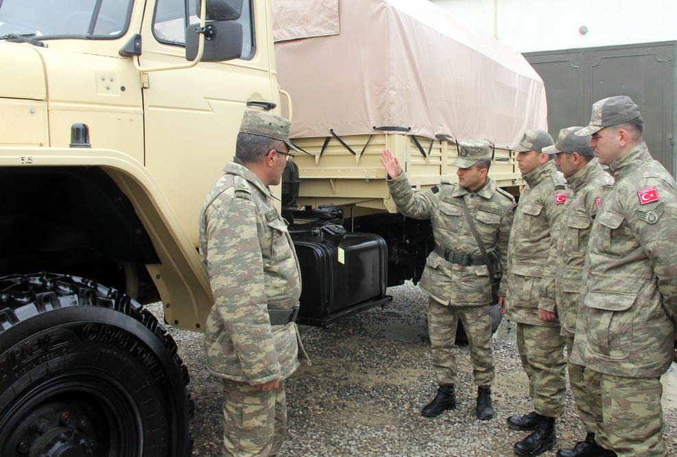 Military equipment to be used in Azerbaijan-Turkey joint drills reviewed (PHOTO/VIDEO)