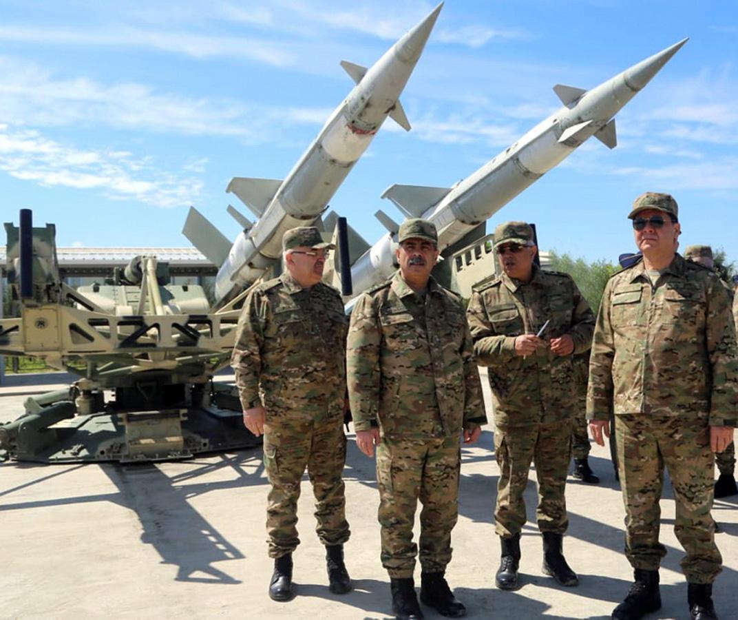 Hərbi Hava Qüvvələrinin aviasiya bazasının yeni komanda məntəqəsinin açılışı olub (FOTO/VİDEO)