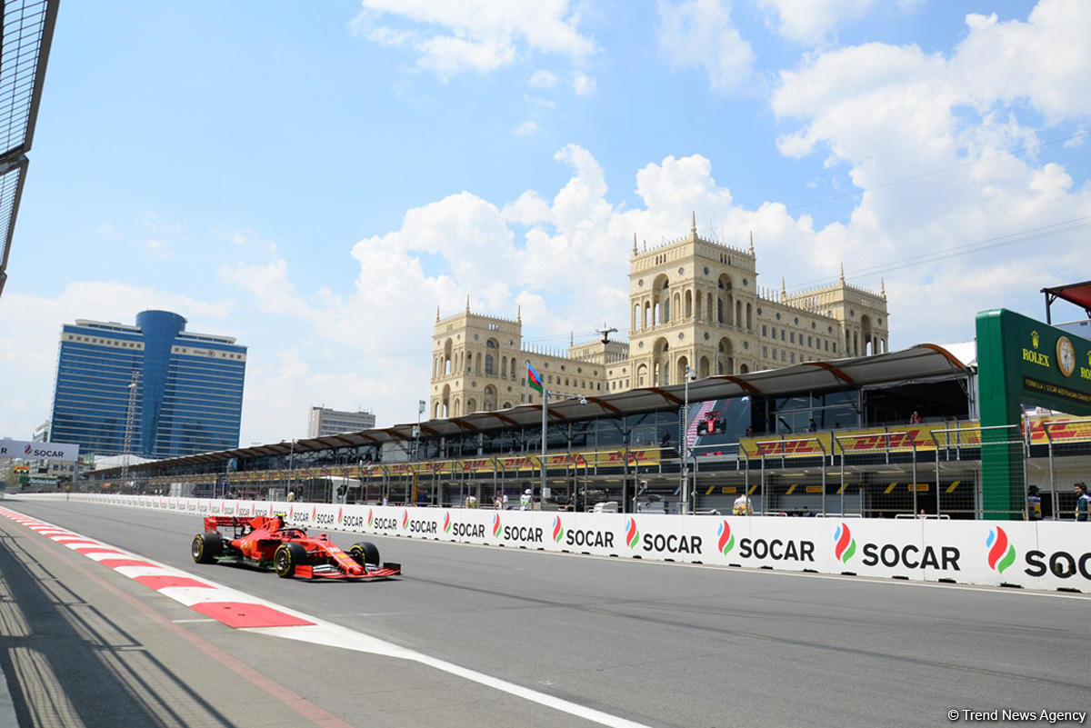 First practice session kicks off in Baku within Formula 1 SOCAR Azerbaijan Grand Prix (PHOTO)
