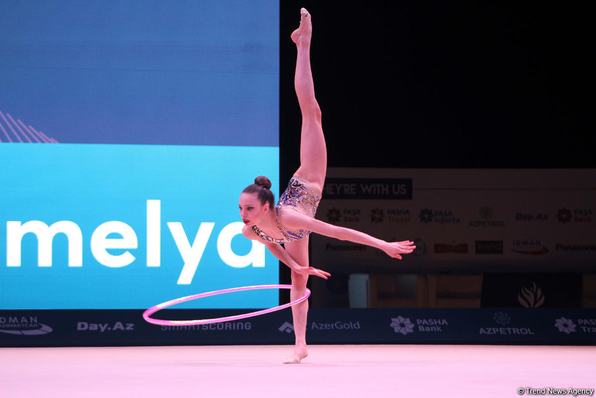 В Баку проходит Кубок мира по художественной гимнастике (ФОТО)