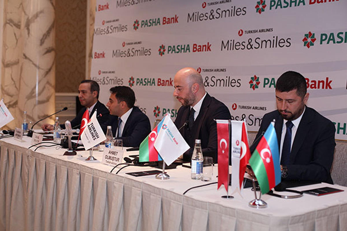 Azerbaijan's PASHA Bank, Turkish Airlines present joint product (PHOTO)