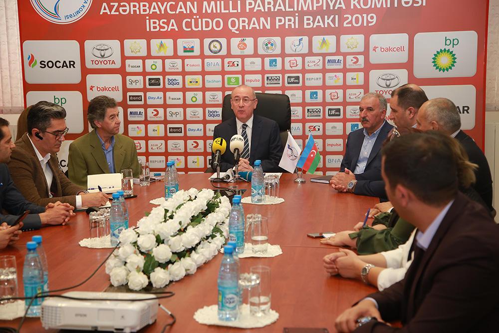 Названы денежные призы İBSA Judo Grand Prix Baku 2019  - презентация сайта (ФОТО)