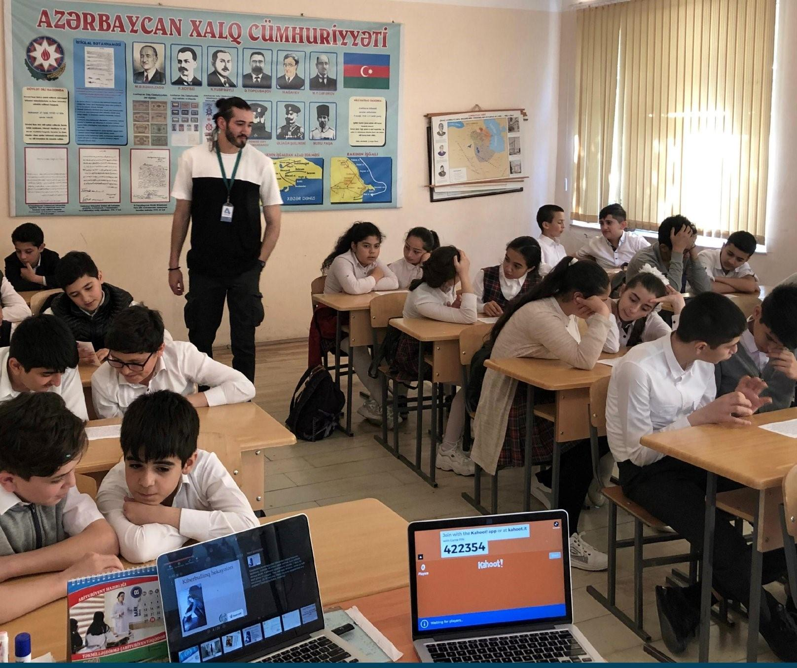 With support of Azercell cyber security training sessions held in Sumgayit (PHOTO)