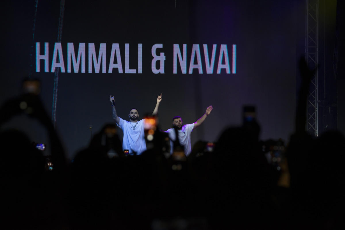 HammAli & Navai зажгли три тысячи огней в Баку (ВИДЕО,ФОТО)