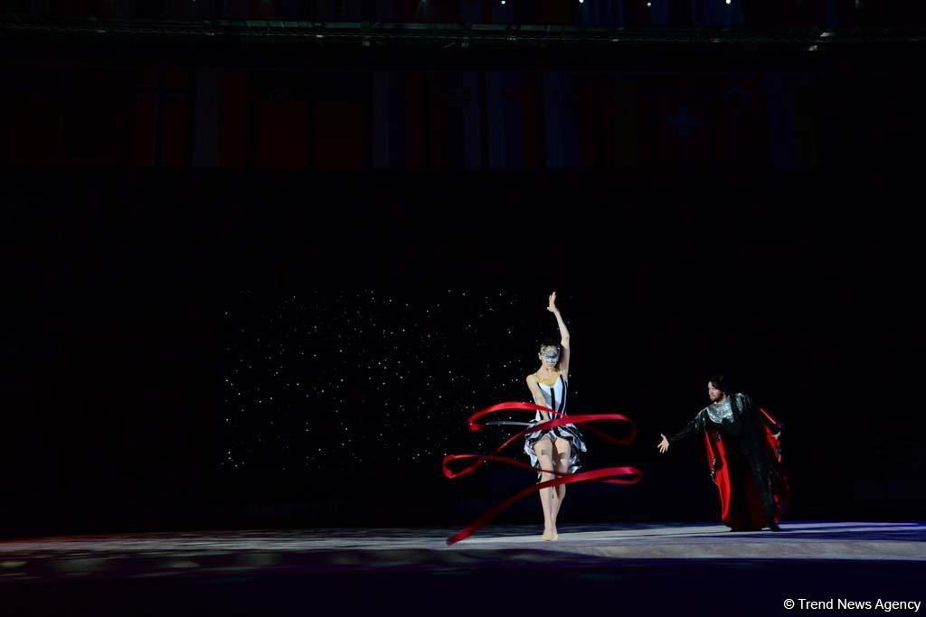 Fascinating, bright, exciting rehearsal of opening ceremony of European Championships in Rhythmic Gymnastics in Baku (PHOTO)