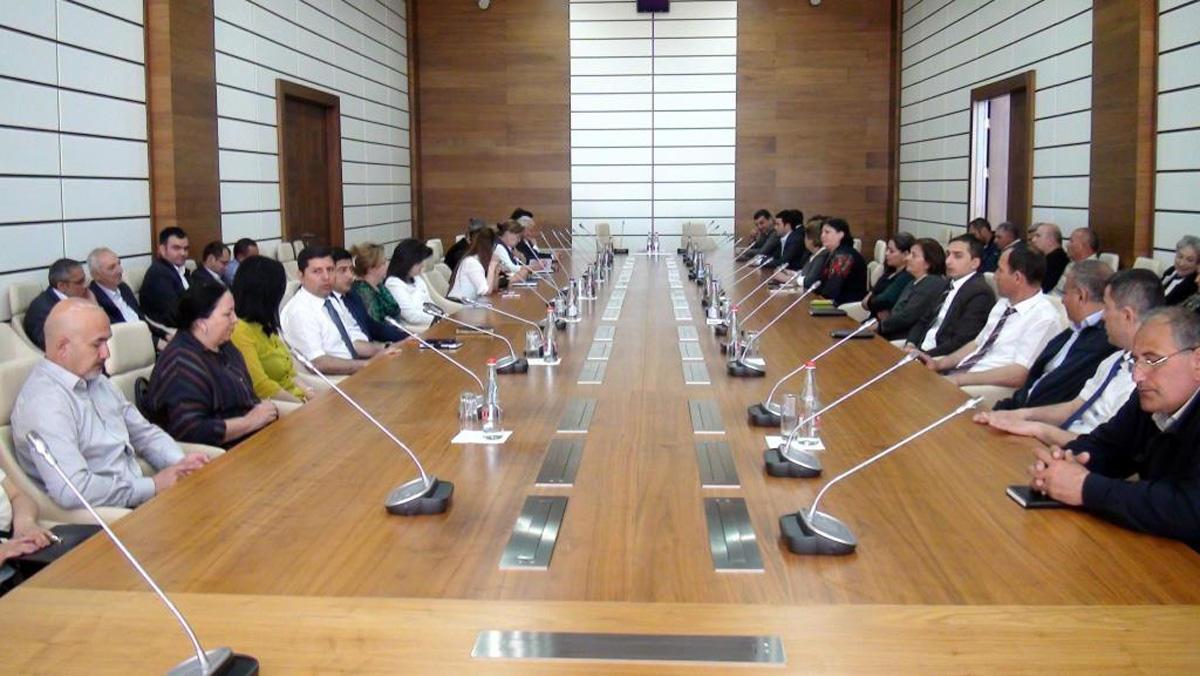 Госслужба трудовой инспекции Азербайджана просвещает население по вопросам трудового законодательства (ФОТО)