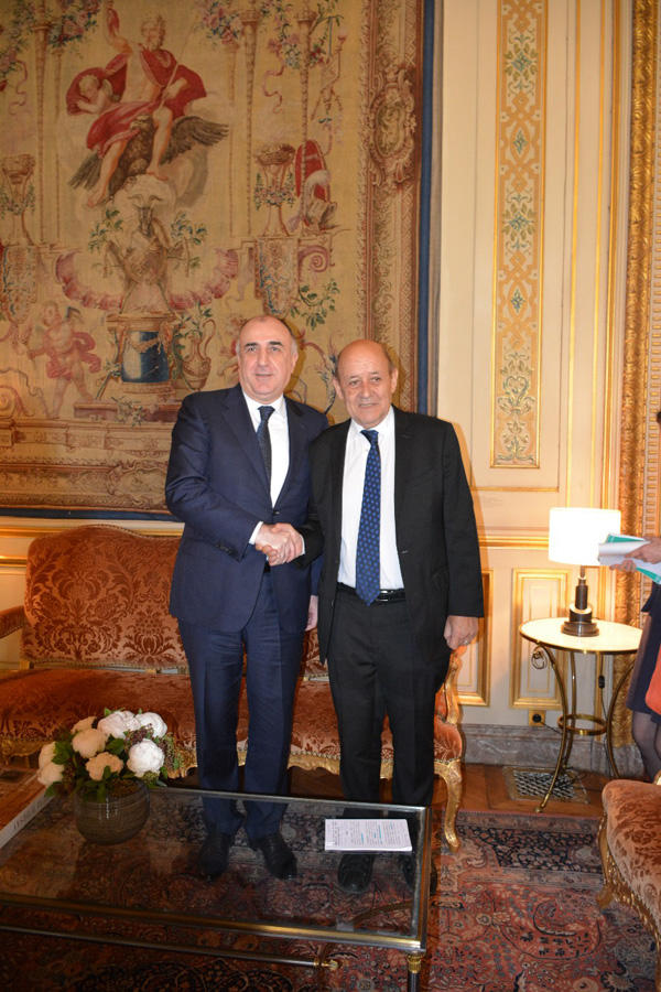 Foreign Minister: France to make every effort to resolve Karabakh conflict (PHOTO)