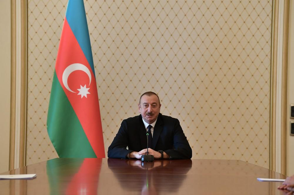 President Aliyev receives ambassadors, heads of diplomatic missions of Muslim countries to Azerbaijan (PHOTO)