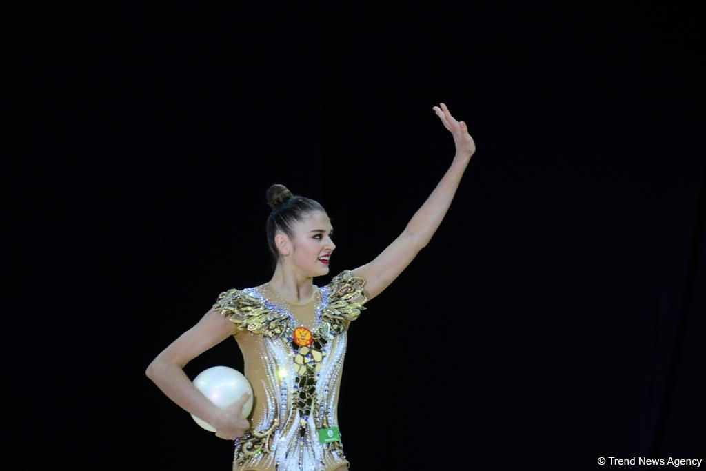 Лучшие моменты финальных соревнований Чемпионата Европы по художественной гимнастике в Баку (ФОТО)
