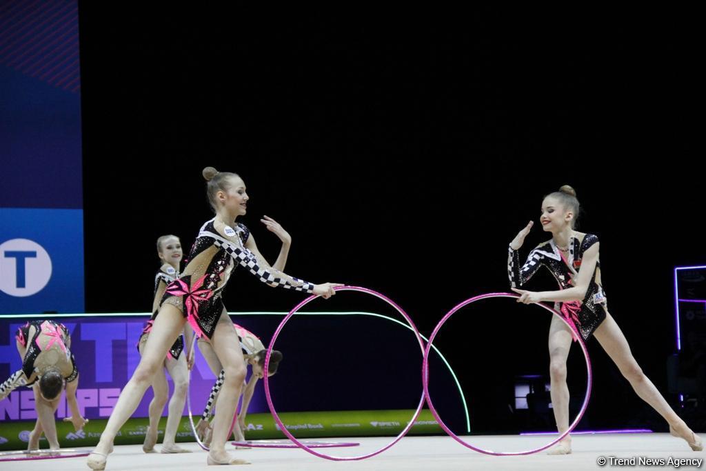 Finals of 35th European Rhythmic Gymnastics Championships kick off in Baku (PHOTO)