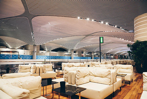 Turkish Airlines to open 5 lounges at new Istanbul Airport (PHOTO)