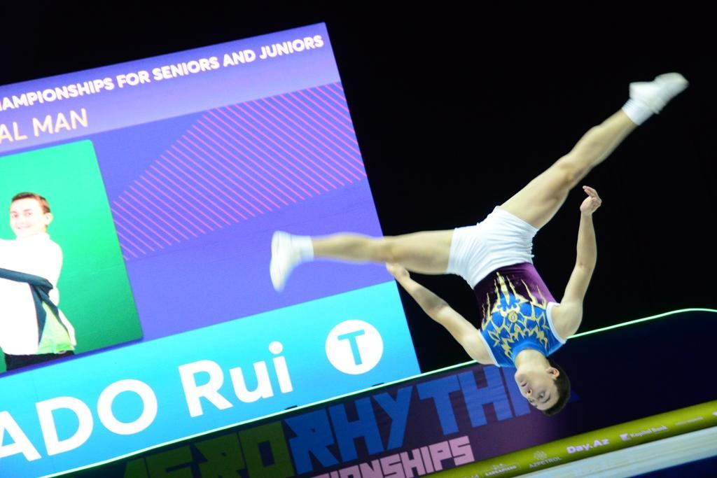 Finals of 11th European Aerobic Gymnastics Championships kicks off in Baku (PHOTO)