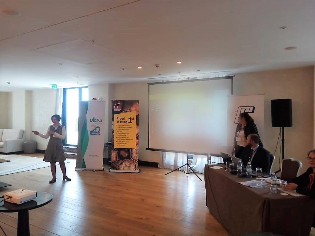 EY şirkəti Maliyyə Hesabatlarının Beynəlxalq Standartının tətbiqinə dair təqdimat keçirib (FOTO)