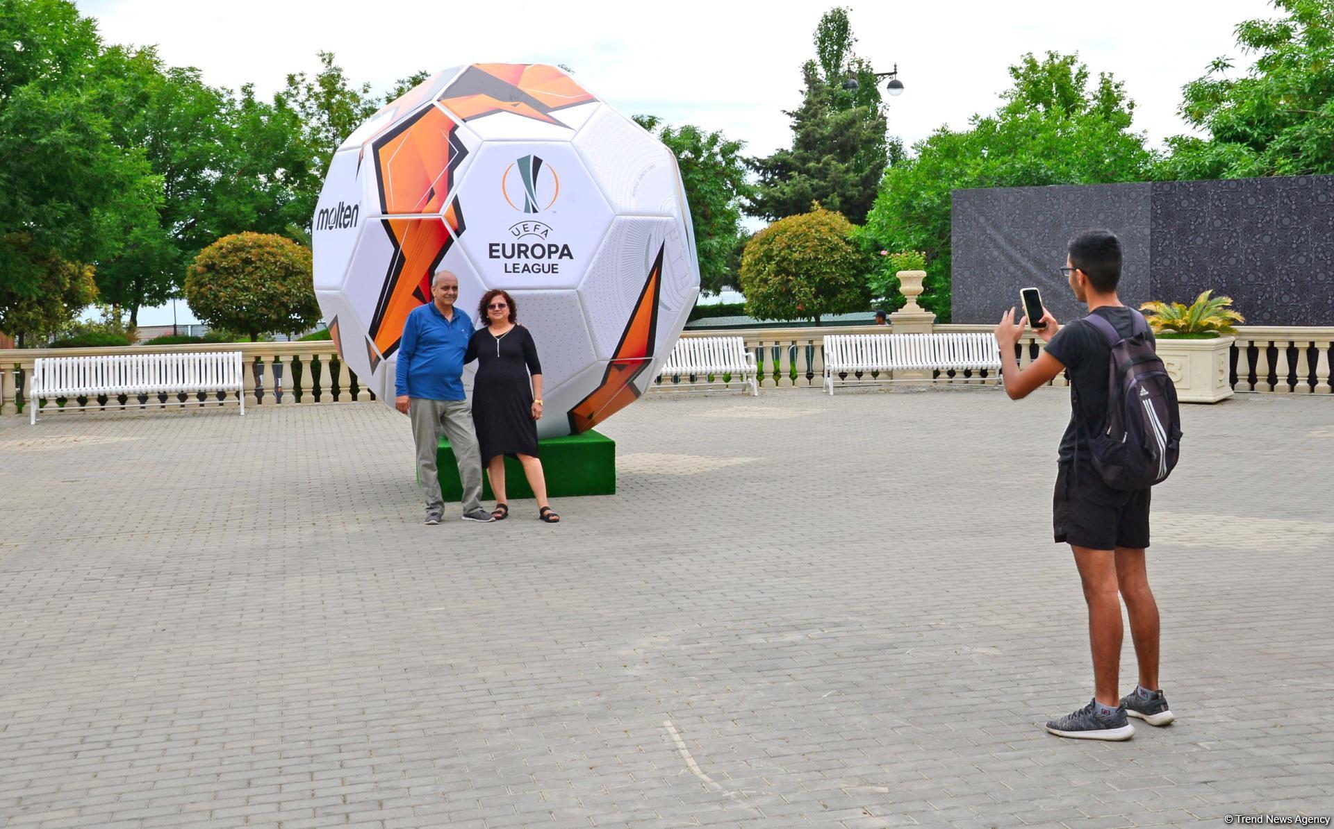 Few hours left before start of UEFA Europa League final match in Baku (PHOTO)