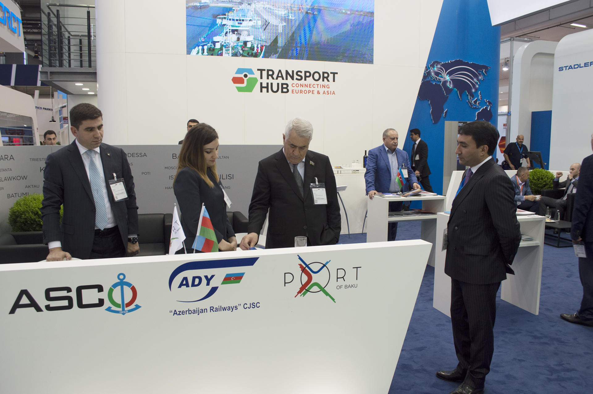 Azerbaijan presented at biggest transport exhibition in Europe for first time (PHOTO)