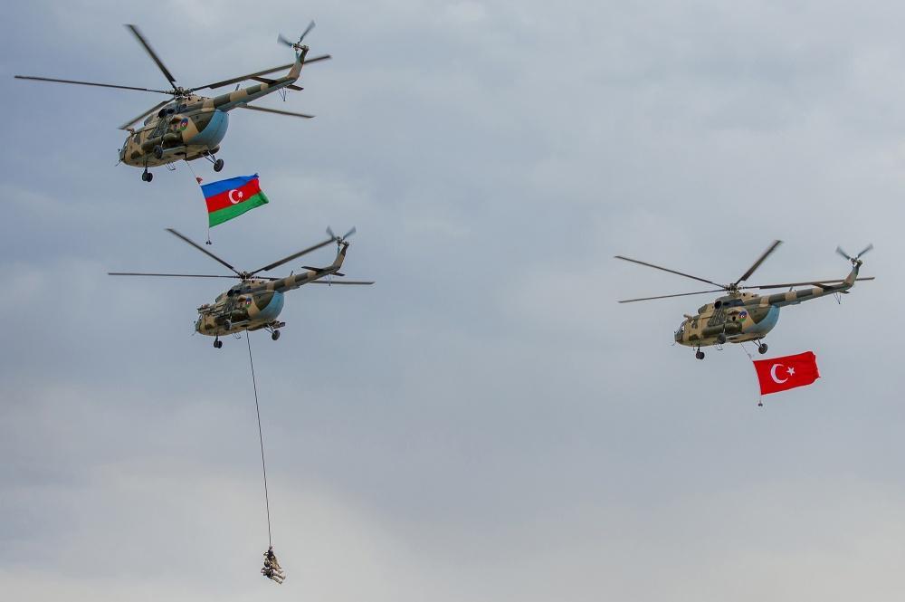 Naxçıvanda Azərbaycan-Türkiyə birgə hərbi təlimləri keçirilib (FOTO)