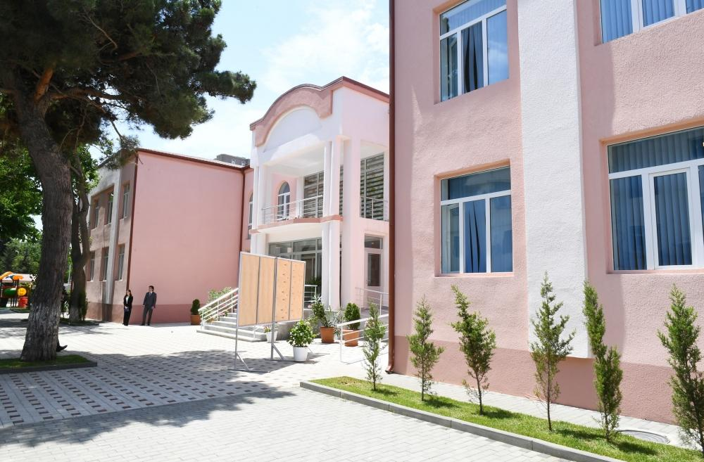 Azerbaijani First Vice President Mehriban Aliyeva attends opening of new building of orphanage-kindergarten No 11 in Yasamal district (PHOTO)