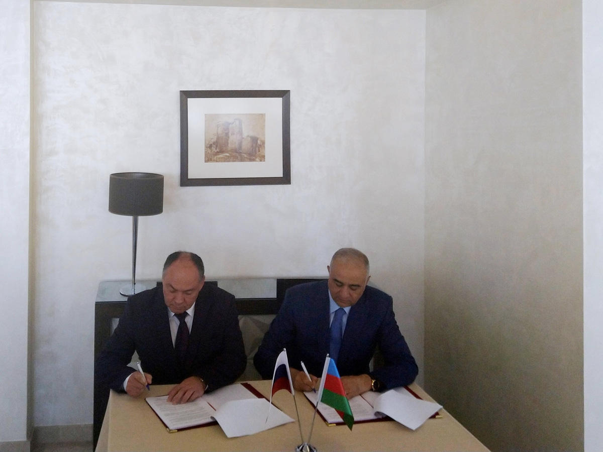 Azerbaijan, Russia sign protocol on sharing water resources of Samur River (PHOTO)