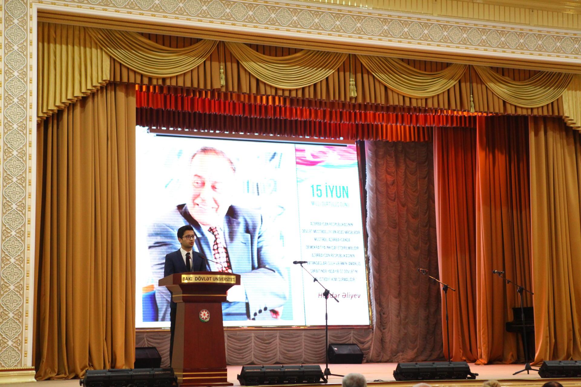 Эльчин Бабаев: Великий лидер Гейдар Алиев спас республику от угрозы распада (ФОТО)