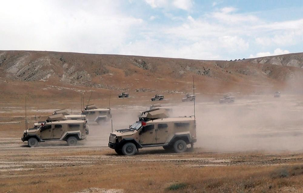 Azerbaijani army holds exercises at combined-arms range (PHOTOS/VIDEO)