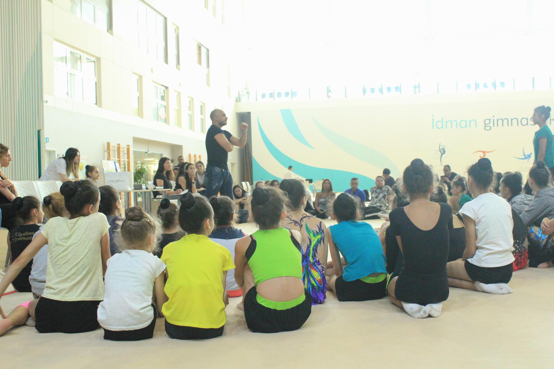 В Федерации гимнастики Азербайджана трудятся профессионалы своего дела - Мири Юсиф (ФОТО)