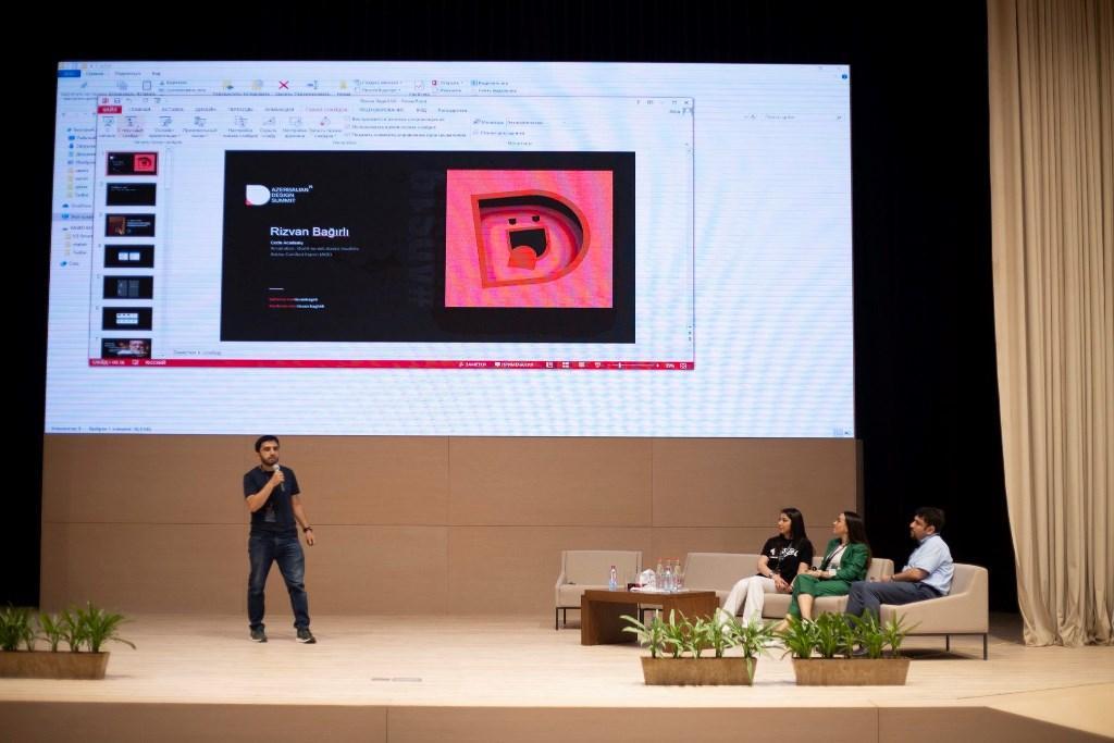 В Баку прошел Azerbaijan Design Summit - большой интерес молодежи (ФОТО)