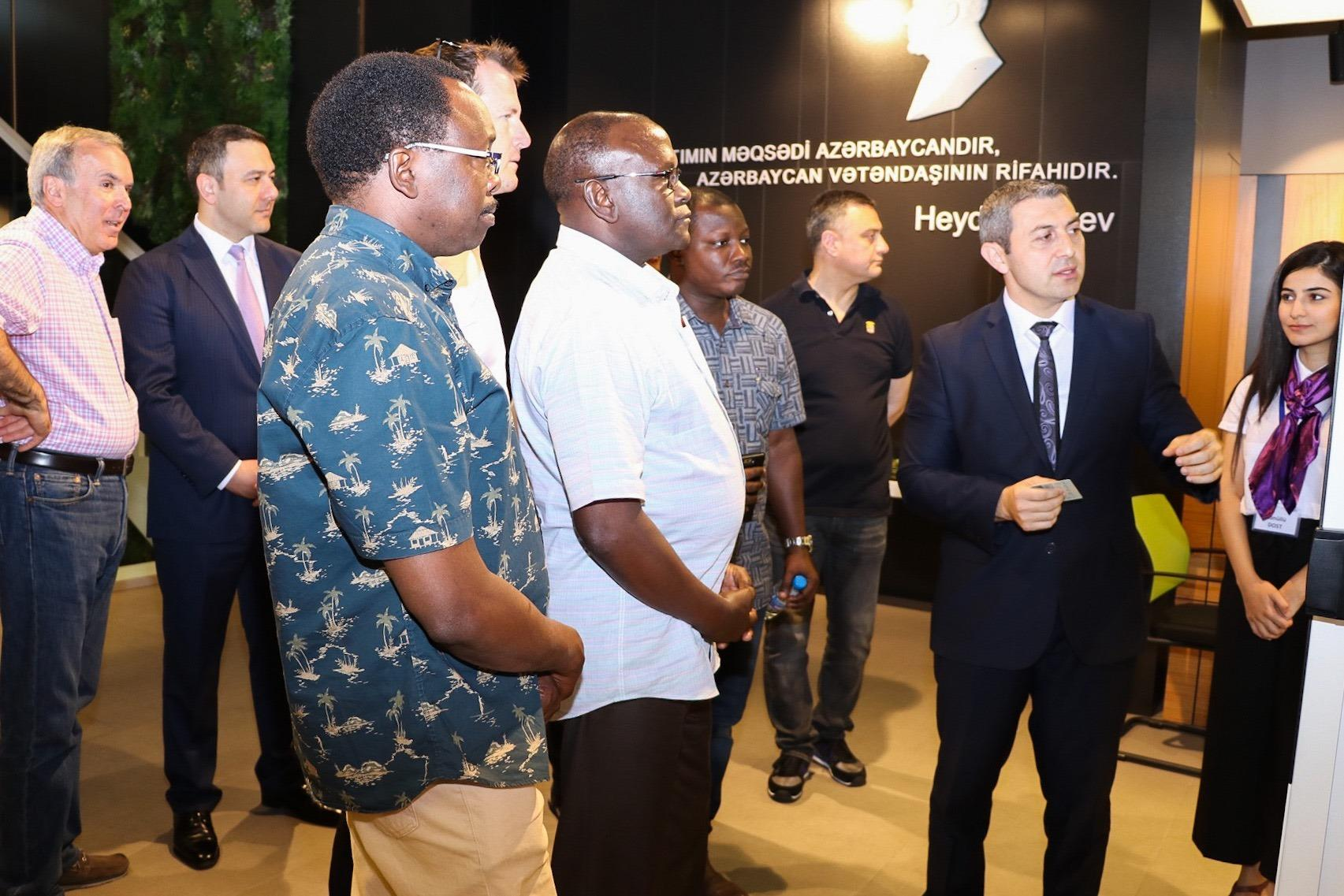 Reps of int'l organizations familiarized with activity of Azerbaijan's DOST center in Baku (PHOTO)