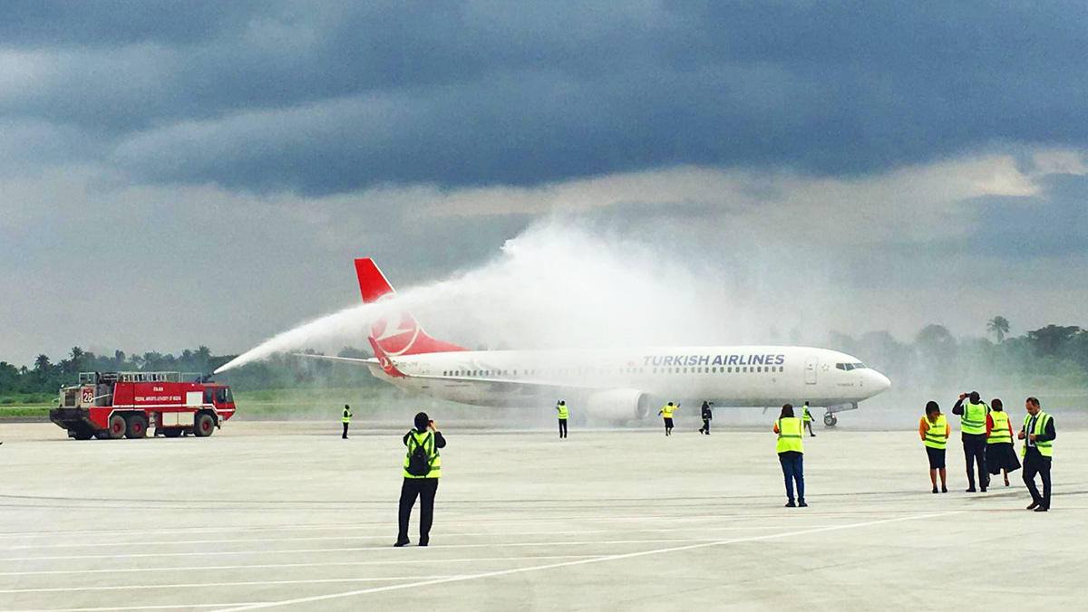 Turkish Airlines added Nigeria's Port Harcourt to its flight network (PHOTO)