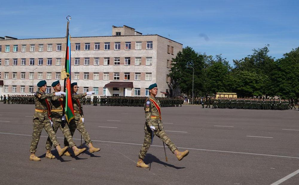 Azerbaijani servicemen to take part in military parade in Belarus (PHOTO)