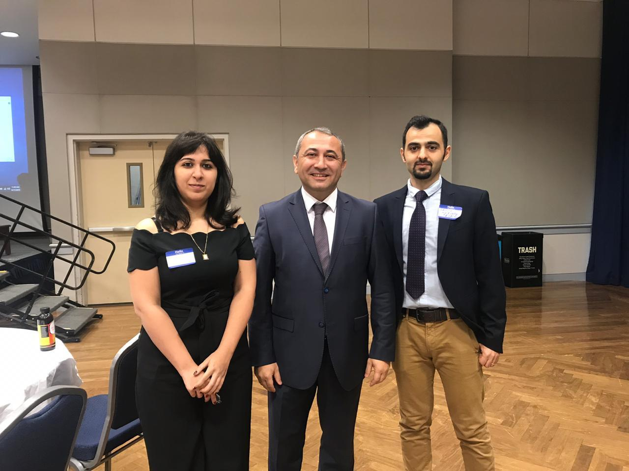 UNEC will cooperate with Azerbaijani scientists working in United States (PHOTO)
