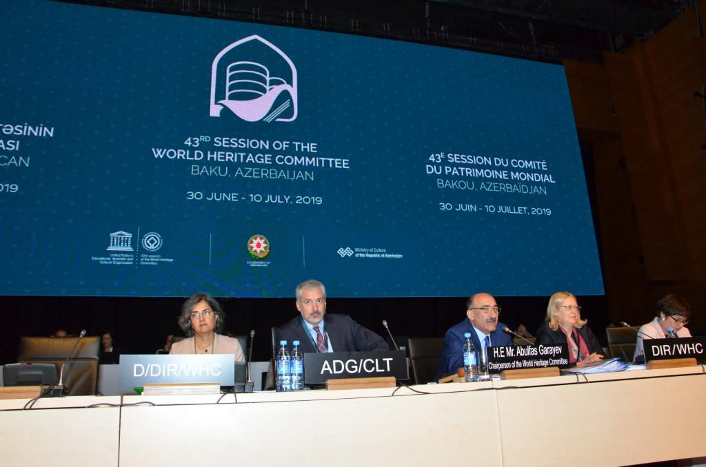 First plenary meeting held within 43rd session of UNESCO