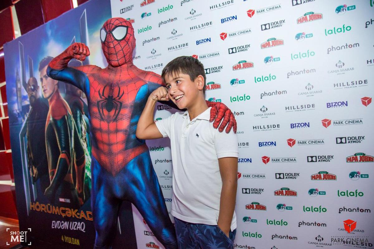 В Баку прошел специальный показ «Человек-паук: вдали от дома»