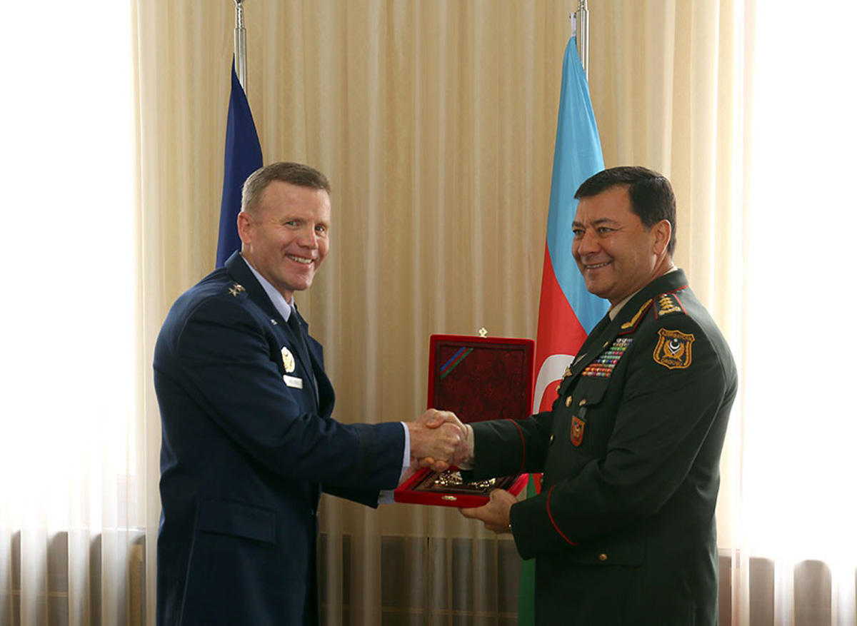 General Wolters: NATO supports territorial integrity of Azerbaijan (PHOTO/VIDEO)